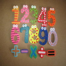 Moodeosa Magnetic Wooden Numbers Math Set Digital Baby Educational Toy Freeshipping(China (Mainland))