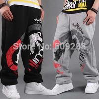 Lovers Sweat Pants Sport Pants Hip Hop Designer Cotton Fashion Rhino Print Men  Women Casual Trouser