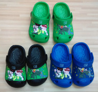 2014 Hot sale Middle Children Garden shoes, Kid Summer Sandals slippers shoes, Boy Ben10 design casual shoes, 6pairs/lot-ZZ-S023