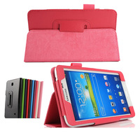 Galaxy Tab 4 7.0 Case, Business Ultra Slim Thin Flip Leather Book Cover Case For Samsung Galaxy Tab 4 7.0 T230 Multi-Color