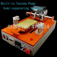 110 / 220V Built-in Vacuum Pump Semi Automatic LCD Touch Screen Separator Repair Machine For Iphone Samsung + 200m Cutting Line