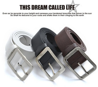 High quality Low price men Belts Mens Luxury Leather Belts Hot 3 colour leisure PU belt 2014 Vintage Style male new belts