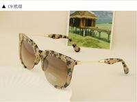 new half-frame sunglasses retro sunglasses sunglasses Star Fan influx of people men and women sunglasses glasses