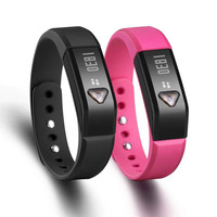 New Arrival!!! Smart Bracelet Fitness Wearable Tech Bluetooth Sleep Monitor Tracking Wristband  Free Shipping