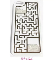 Retro Mystery Game Labyrinth Puzzled Maze Case Moze Back Cover for iphone 5 5s 5g cell phone