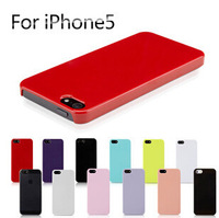 Candy Color Can be DIY Plastic lphone 5 5S Anti-knock  Mobile Cell phone Case Cover R-261
