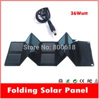 jane 36W monocrystalline DC 18V USB 5V folding portable solar generator panel