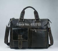 Guaranteed 100% Natural Genuine leather men Bag shoulder totes leather men travel bags men 's bags handbags briefcase new 2014
