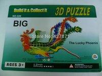 2014 hot design advertisement custom made magnetic best 3d puzzles luminous puzzle