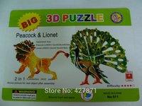2014 hot design advertisement custom made magnetic best 3d puzzles alphabet jigsaw puzzle