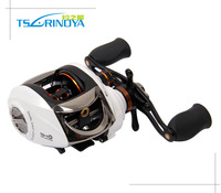 Trulinoya New Arrival 2014 Bait Casting Fishing Reel 11 Bearings Dual Cast Control Anti Backlash Salt Water Left Hand Baitcaster