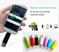 Smart phone USB Flash drive 16G 32G OTG USB Flash Drive Computer Micro USB Flash Drive U Disk for Android Phone