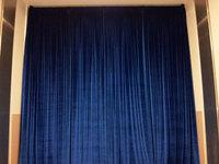 3m x 3m   black  Silk Wedding Backdrop  Curtain  drapes for wedding