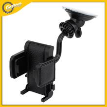 Universal Mobile Phone Holder 360 Degree Rotable Car Mount Holder For Cell Phones Car Phone Holder For Lada Priora Black
