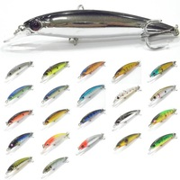 Fishing Lure Minnow Crankbait Hard Bait Fresh Water Shallow Water Bass Walleye Crappie Minnow M600 Fishing Tackle M600X14