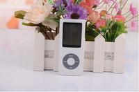 200pcs/lot 4th Gen MP4 Player + 16GB + 1.8'' Video Radio FM MP3 MP4 Free Shipping
