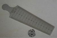 Welding Taper Gauge 30-45mm Welding Gage Welder Inspection Inch and Metric
