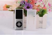 "100pcs/lot Free Shipping 32GB Slim 1.8"" 4th LCD Christmas MP4 Player FM Radio Video 9 COLORS"