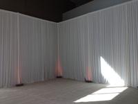 3m x 6m   white Silk Wedding Backdrop   wedding  backdrop  drapes curtain