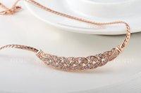2014 Necklace Women Collar Fashion New Arrival, Genuine Austrian Crystal,fashion Women.party Necklaces,chrismas/birthday Gift