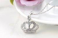 2014 Sale Necklaces Pendants Fashion New Arrival, Genuine Austrian Crystal,fashion Women.party Necklaces,chrismas/birthday Gift