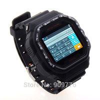 "Best GD930 Sport Watch Unlocked 1.46"" Touch Screen Quad Band MP3 FM Bluetooth Camera WristWatch Watch Phone Keypad Free Shipping"