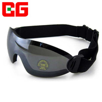 Anti-uv goggles ride protective glasses windproof sand windproof mirror black