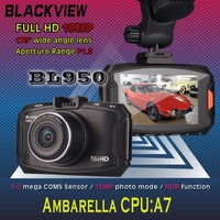 new 2014 BLACKVIEW BL950 Car camera Full HD Car DVRS 2.7 Inch 170 Degree Wide Angle Recorder Detector Video Registrator dash cam