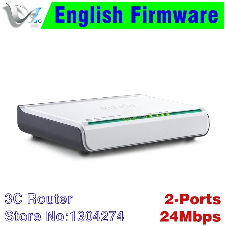 Free shipping Tenda D820B Russian ADSL 2+ modem 3G home network RJ11 RJ45 ports broadband modem with ethernet + tel cable ME1001(China (Mainland))