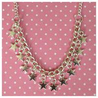 SALE Venus Charm Necklace, chunky style necklace, fashion star charm necklace