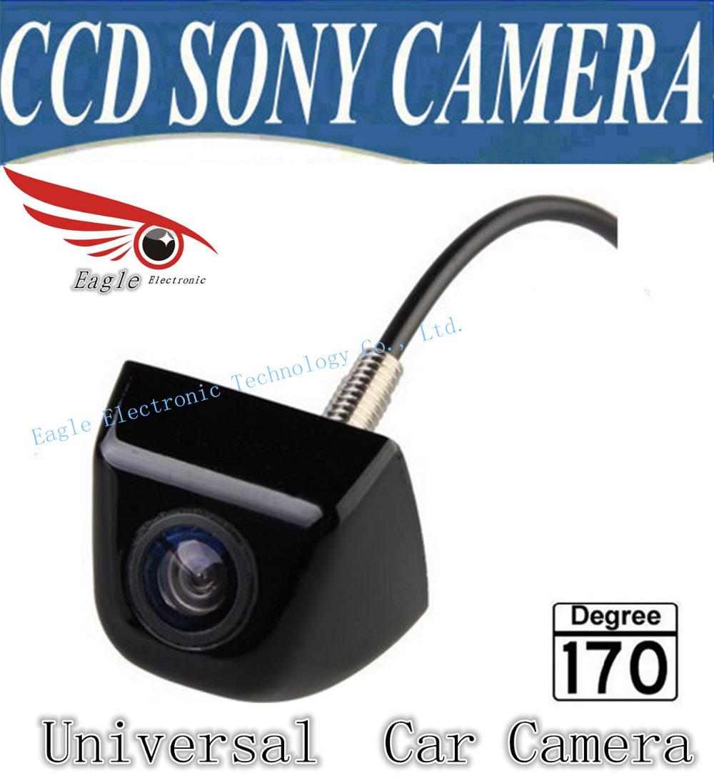 SONY CCD universal Car rear view camera HD color night vision car camera for all car such solaris corolla BMW E36 mazda(China (Mainland))