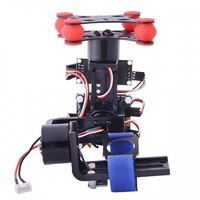 FPV 3 Axis Brushless Gimbal Camera w/ Controller Motor for Gopro 3 DJI Phantom
