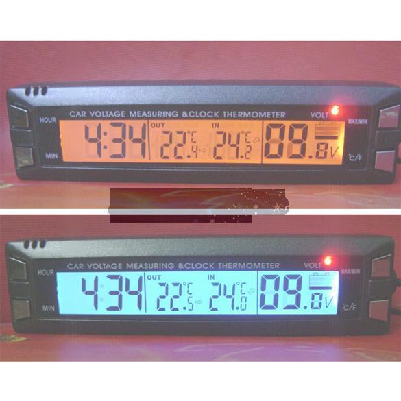 Car Lcd Price Digital Lcd Clock And Car