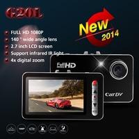 "Car DVRS G20L Novatek Full HD 1080P 2.7"" G-Sensor car camera dvr Motion Detection IR Night Vision Camera Video Recorder Dash Cam"