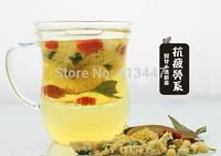 10 sachets antifatigue scented tea,chrysanthemum,jasmine flower,wolfberry,licorice,stevia,Scented tea combination,free shipping