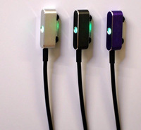 Magnetic Charging to Micro USB Female Adapter Cable for Sony Xperia Z2 Z2 E0Xc