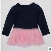 Hot Sale 2014 new peppg pig  Dress Summer Dress For Girl Hot Princess Dresses Brand Girls Dress Children Clothing Kids Wear A02