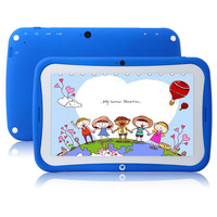 Blue Color Kids Tablet PC R70AC Dual-core 7inch IPS 1024*600 Android 4.2OS,512MB/8GB,support WIFI,Preloaded Educational Apps