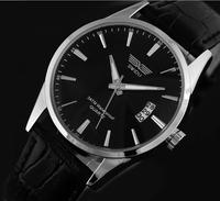 electronic 2014 new  brand classic fashion men's The calendar calibration male watch fashion table men strap quartz watch