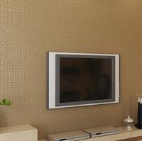 Pure white  wallpaper green wallpaper woven beige minimalist living room bedroom TV background wallpaper decoration /P183