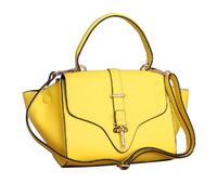 Full genuine leather women's handbag banquet business casual sweet handbag messenger bag shoulder bag