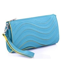 2014 women's fashion handbag the trend of fashion women's wave clutch day clutch mini bags