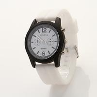 Koshi NEW Geneva Unisex Quartz watch, fashion silicone watch,Rose Gold Silicone watches Dropship XR315