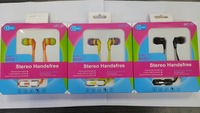 Promation 3.5MM jack Headphone with microphone mobile handsfree stereo for IPHONE SAMSUNG HTC