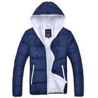 New winter jacket men coat hooded parkas
