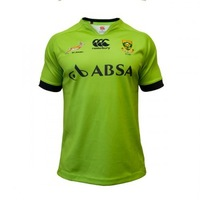 Canterbury 2014 Mens South Africa Springboks Rugby pro S/S jersey 3 colors  chest S-5XL Free shipping