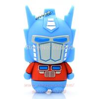 Free shipping! Genuine fashion Robot usb flash drive, 2GB 4GB 8GB 16GB USB Flash Drive,32GB pen drive Memory Stick Drive thumb