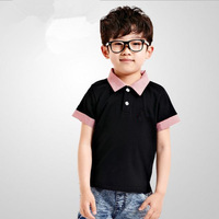 Free Shipping 2014 Spring/Summer new summer Loving boy Short Sleeved T-shirt Boy clothing boy top