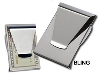 1pcs/lot New 2014 Men Women Double Side Money Cash Card Clips Free CN Shipping As Seen On TV Only $2.99