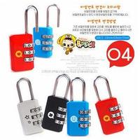 Luggage Suitcase Combination Locks Padlocks Case Bag Password Digit Code Safety